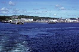 Stornoway harbour from the ferry