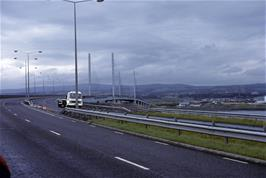 The Kessock Bridge leading to Inverness